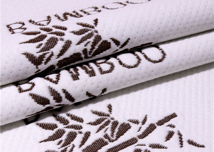 organic bamboo fabric knitted fabric bamboo charcoal mattress fabric